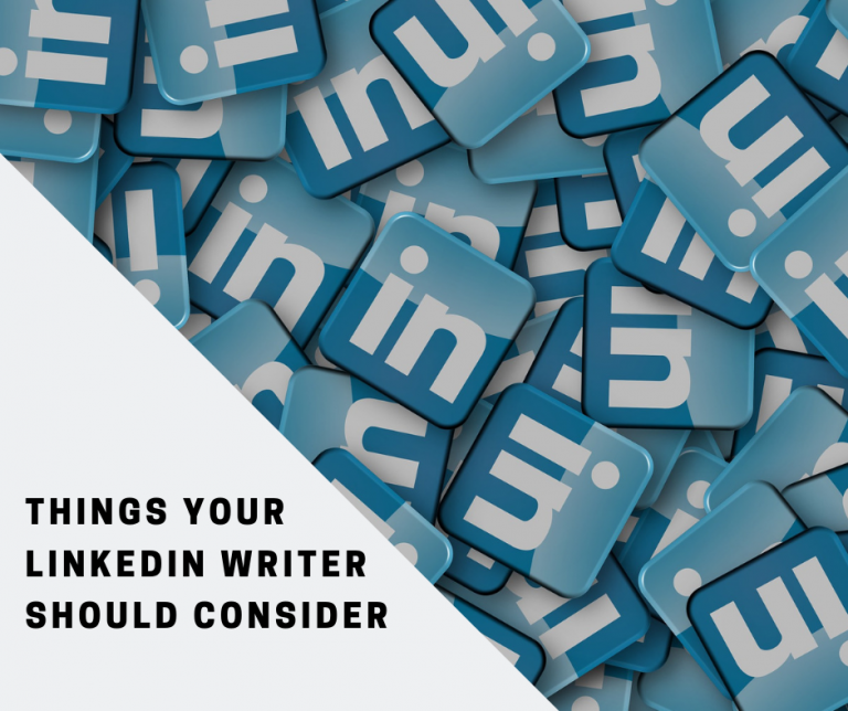 Things your LinkedIn writer should consider